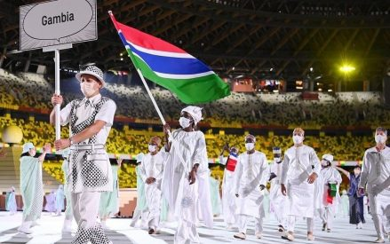 GNOC Congratulates Team Gambia after a Stellar performance at the Tokyo Olympic Games